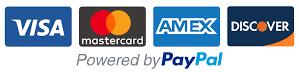 Visa | Mastercard | AMEX | Discover